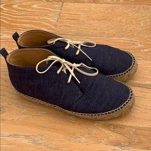 Shoes - Denim Espadrielle Shoes